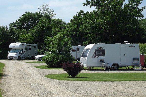 Caravan and motorhomes welcome